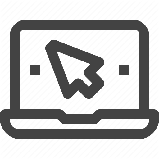 Click, Comtuter, Cursor, Device, Laptop, Mouse, Pointer Icon