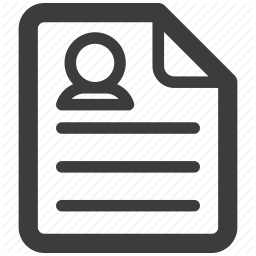 Pictures Of Resume Icon Png