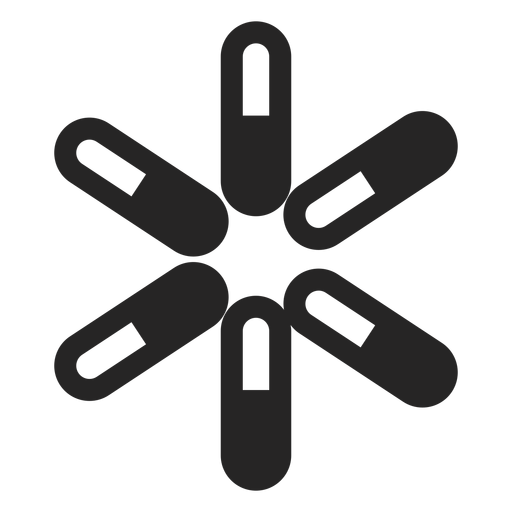 Abstract Asterisk Icon