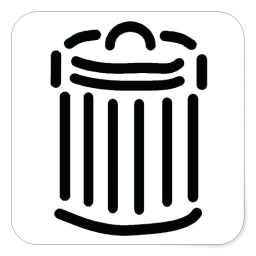 Trash Symbols Can Icon Vector Image Artwork Of Signs Maps Ac Html