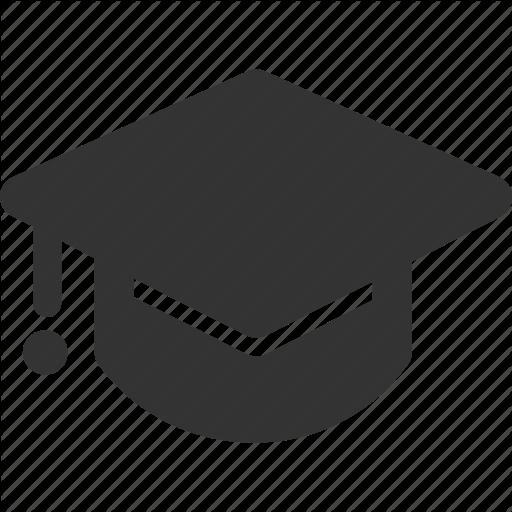 Academy, Cap, Education, Graduation Icon