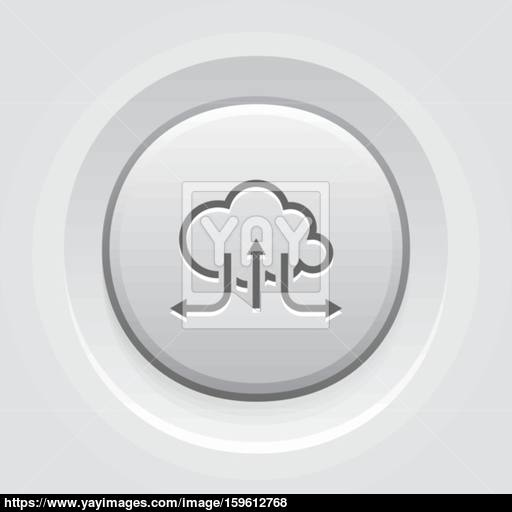 Accelerate Your Cloud Icon Business Concept Vector