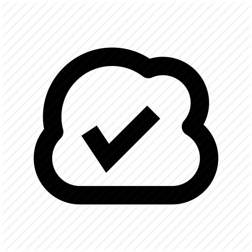 Cloud Acceptance, Cloud Checkmark, Cloud Computing, Cloud Network