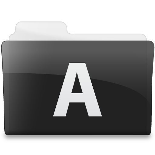 Folder Microsoft Access Icon