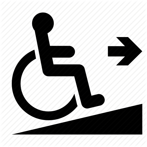 Accessible, Arrow, Disability, Handicapped, R Sign, Wheelchair