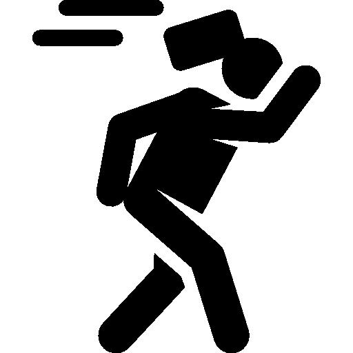 Accident Icon Insurance Human Pictograms Freepik