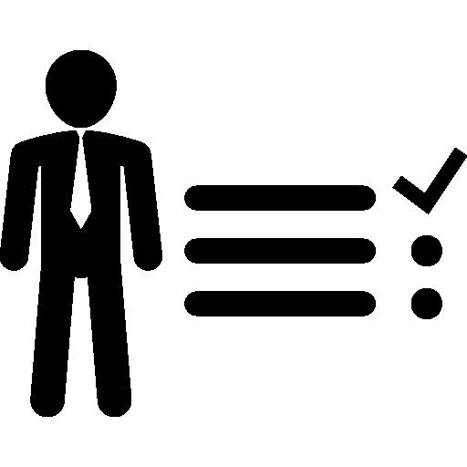 Businessman Tasks Items List