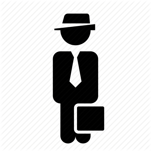 Actor, Businessman, Man Icon