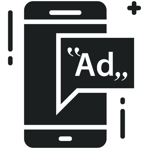 Ad, Advertisement, Marketing, Mobile, Advertising Icon Free