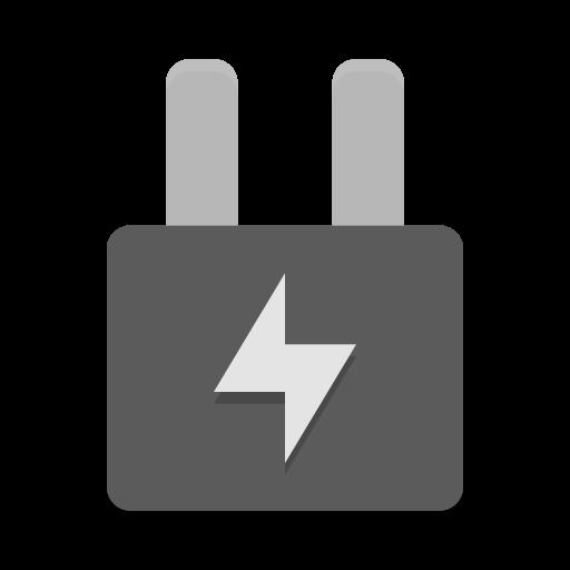 Battery Ac Adapter Icon Papirus Status Iconset Papirus
