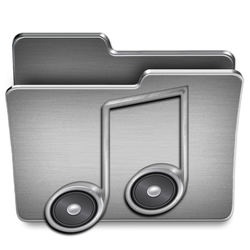 Music Icon Steel System Iconset