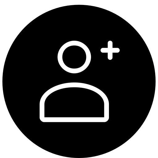 Insert, Add, User, New, Client Icon Free Of Essential Rounded Icons