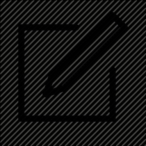 Add, Create, Draw, New, Note, Paper, Write Icon