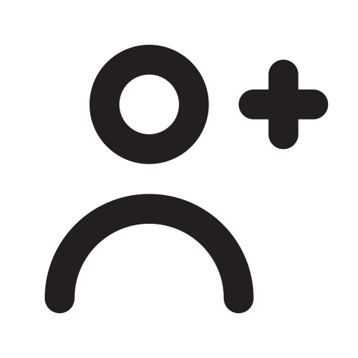 Person, Add, Outline Icon Free Of Eva Outline Icons