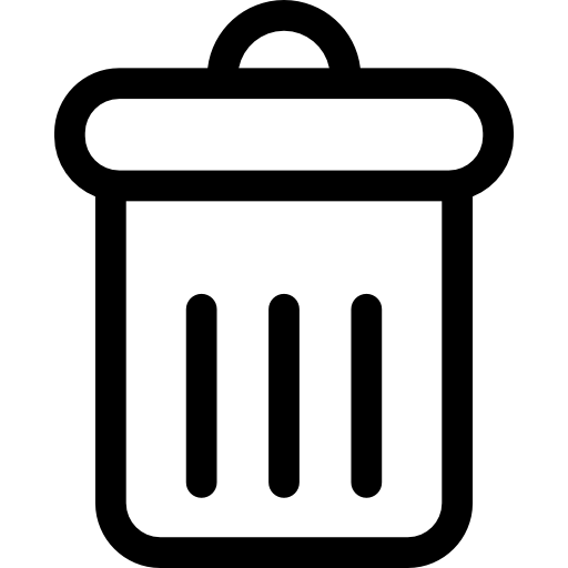 Delete Button Icons Free Download