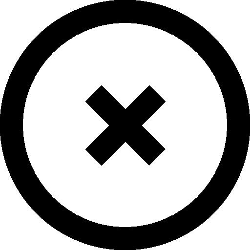 Delete Circular Button