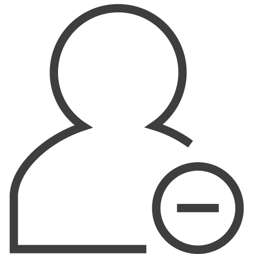 User Remove Icon Silky Line User Iconset Custom Icon Design