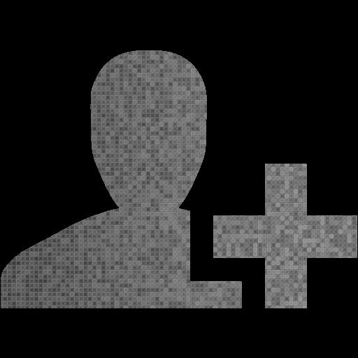 Custom Color Add User Icon