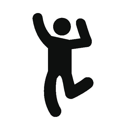 Dancing Man Icon Hadi Man Icon, Vector Free