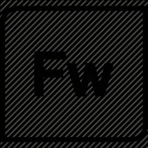 Adobe, Document, Extension, Filetype, Fireworks Icon