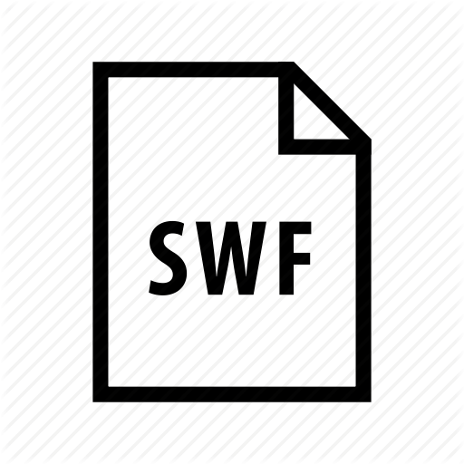 Adobe, Animation, Extension, Flash, Format, Shockwave, Swf Icon