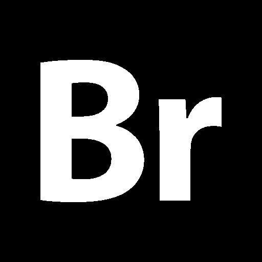 Adobe Bridge Icon Solid Logo Collections Freepik