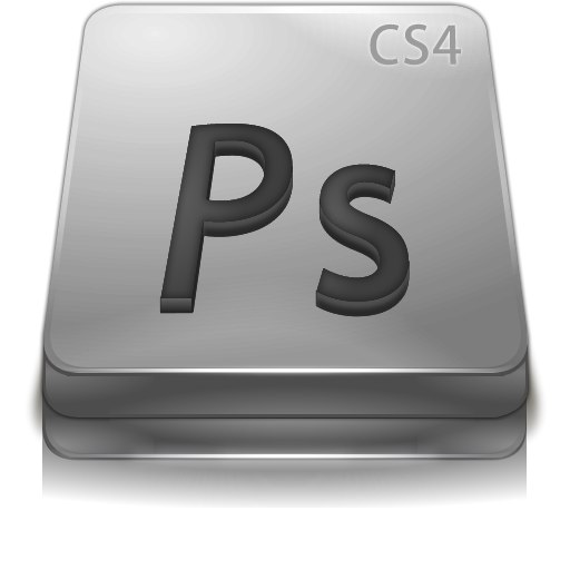 Photoshop, Ps, Adobe, Gray, Cs Icon