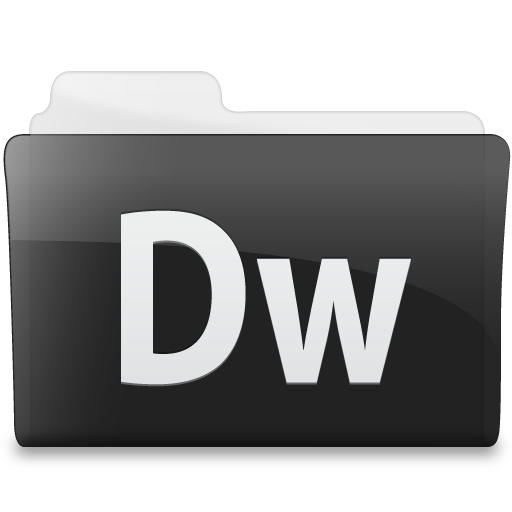 Folder Adobe Dream Weaver Icon