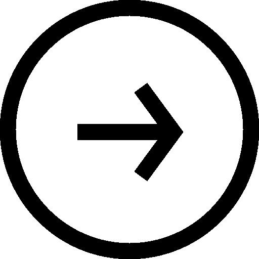 Right Arrow Circular Button