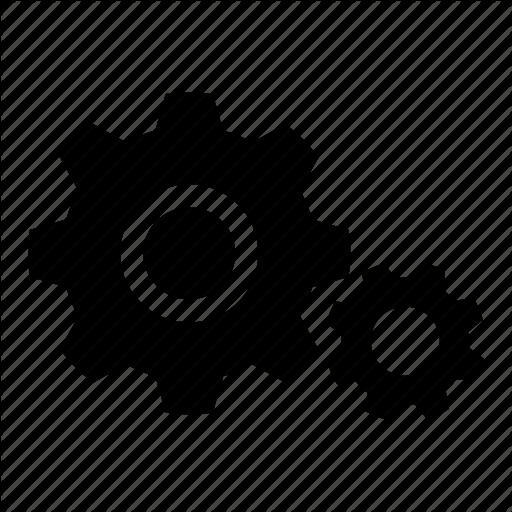 Advanced, Cog, Gear, Gears, Settings, Setup, Setups Icon