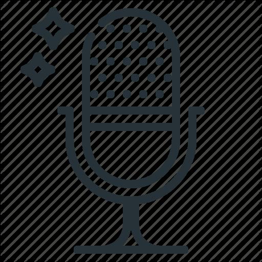Advertising, Microphone, Radio, Radio Advertising Icon