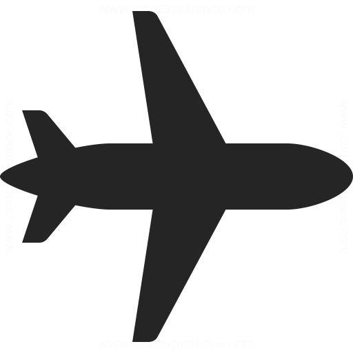 Airplane Icon Iconexperience