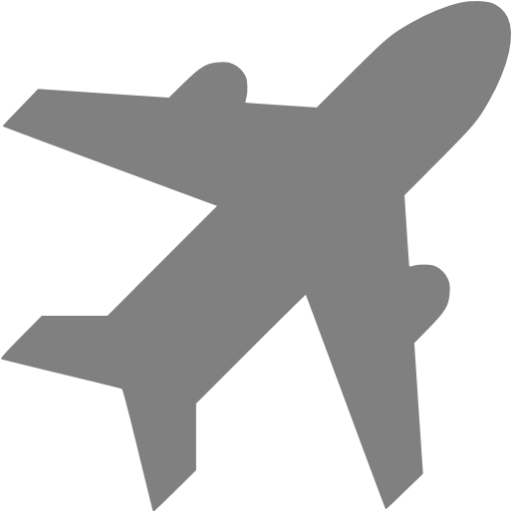 Gray Airport Icon