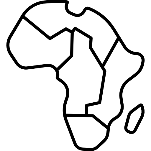 Africa Map Icons Free Download