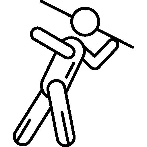 Man Throwing Javelns Free Download
