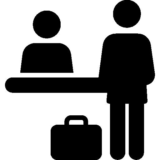 Desk Agent Icon Free Icons