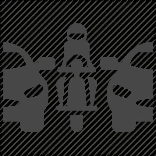 Agility, Car, Congestion, Jam, Motorbike, Motorcycle, Traffic Icon