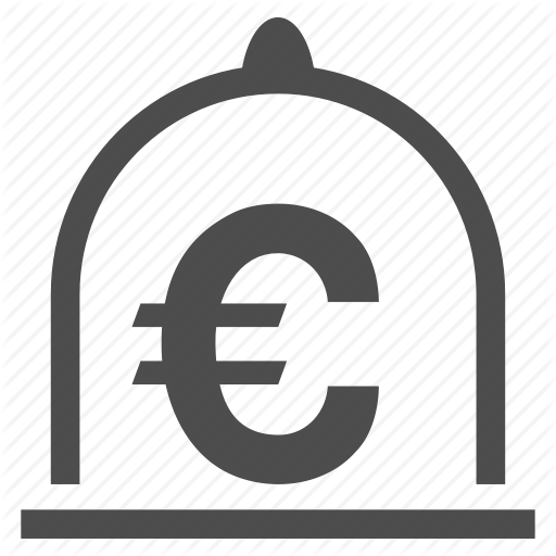 Currency, Euro Standard, Finance, Financial, Money, Safe, Storage Icon