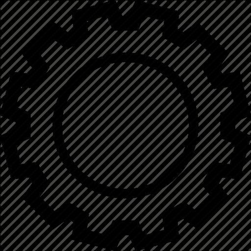 Configuration, Control, Engine, Gear Icon