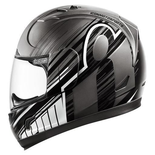 Icon Alliance Helmet In Overlord Black Hfx Motorsports