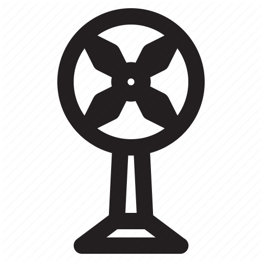 Air, Airflow, Blow, Electronic, Fan, Propeller Icon