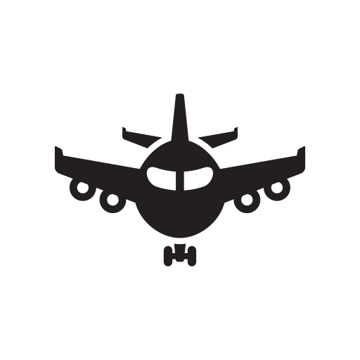 Air, Aircraft, Airline, Airliner, Airplane, Airport, Airway Icon