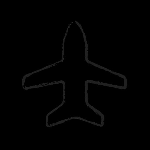 Mixed Airplane Icon
