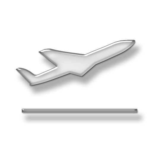 Airplane, Glass, Silver, Travel Transparent