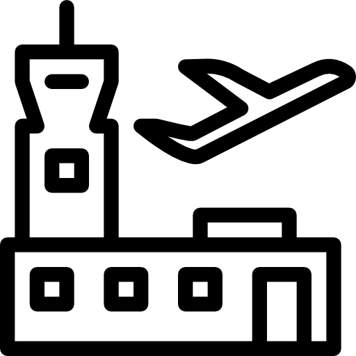 Airport Icon Place Pixel Perfect