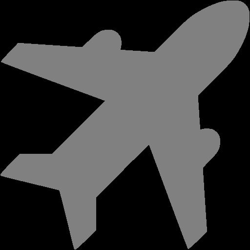 Gray Airport Icon