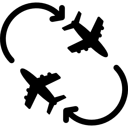 Planes Circling Icon In The Airport Freepik