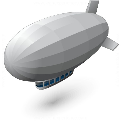 Iconexperience V Collection Airship Icon