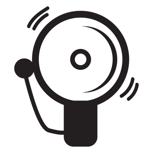Firefighter Alarm Bell Icon
