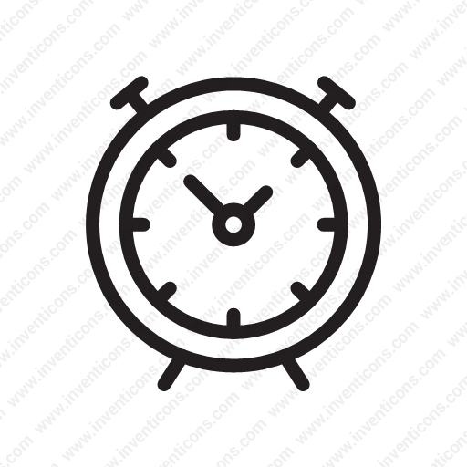 Download Alarm Clock,get Up,get Up,alarm,hour Icon Inventicons